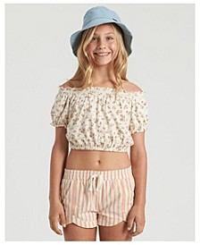Big Girls Sweet Song Knit Top