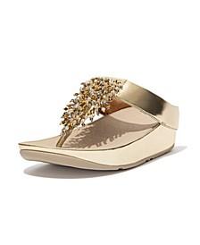 Women's Rumba Beaded Toe-Post Sandals