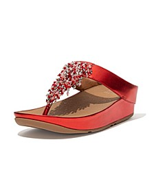 Women's Rumba Beaded Toe-Post Sandals