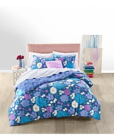 Candice Floral Reversible 3-Pc. Comforter Sets, Created for Macy's