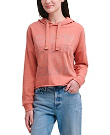 Rhinestuds Stacked Pullover Top