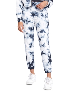 Splendid Track pants SUNDOWN BY SPLENDID JUNIORS' PLAYA TIE-DYED JOGGER PANTS