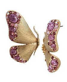 Butterfly Wing Statement Earrings