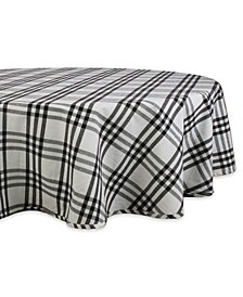"""Homestead Plaid Table Toppers, 70"""" Round, 1 Piece"""