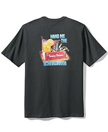 Men's Hand Me The Screwdriver Logo Graphic T-Shirt