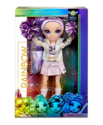 Rainbow High Cheer Doll-Violet Willow