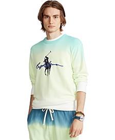 Men's Big Pony Dip-Dyed Spa Terry Sweatshirt