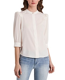 Iris Puff-Shoulder Blouse, Created for Macy's