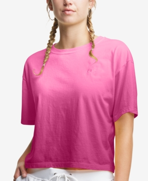 Champion WOMEN'S COTTON OMBRE CROPPED T-SHIRT