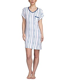 Printed Sleepshirt Nightgown