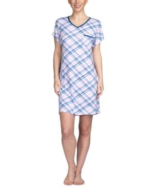 Printed Sleepshirt Nightgown