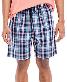 Men's Plaid Sleep Shorts