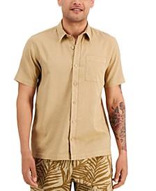 Men's Victor Regular-Fit Garment-Dyed Linen Shirt, Created for Macy's