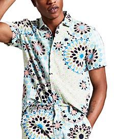 Men's Roland Regular-Fit Medallion-Print Shirt