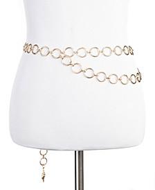 Double-Drape Chain Belt, Created for Macy's
