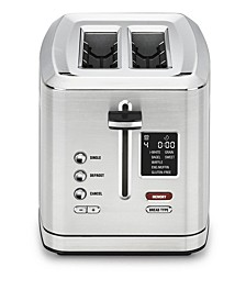 2-Slice Digital Toaster with MemorySet Feature