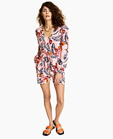 Printed Romper, Created for Macy's