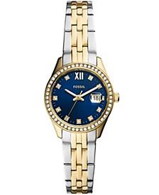 Women's Micro Scarlette Two-Tone Two-Tone Bracelet Watch 28mm