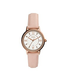 Women's Gwen Nude Leather Strap Watch 34mm