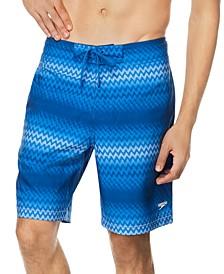 """Men's Purview Stripe Bondi 2-Way Stretch DWR 20"""" Board Shorts"""