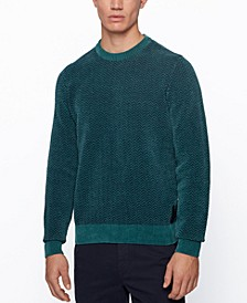 BOSS Men's Kafurlio Herringbone Sweater