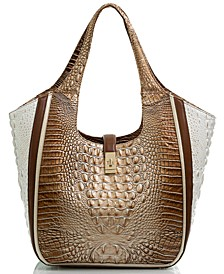 Carla Shoreham Embossed Leather Tote
