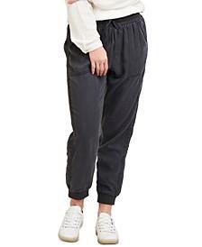 Petite Drawstring Jogger Pants