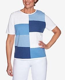 Plus Size Classics S1 Colorblock Sweater