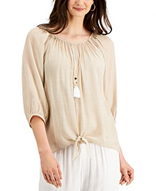 Petite Necklace Top, Created for Macy's
