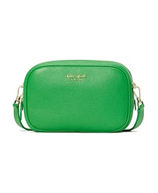 Astrid Medium Leather Camera Bag