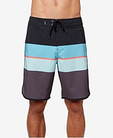 Men's Four Square Stretch Boardshort