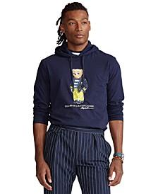 Men's Polo Bear Hooded T-Shirt