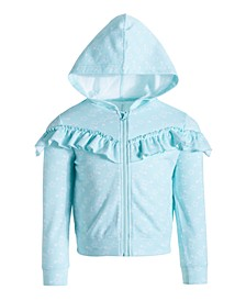 Little Girls Ruffle Sweatshirt, Created for Macy's