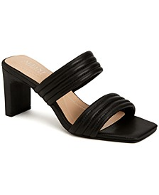 Women's Stantonn Quilted Slide Dress Sandals, Created for Macy's