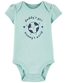 Baby Girls Daddy's & Mommy's Original Bodysuit