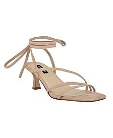 Women's Agnes Strappy Low Dress Sandals