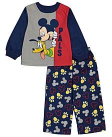 Mickey Mouse Toddler Boy 2 Piece Pajama Set