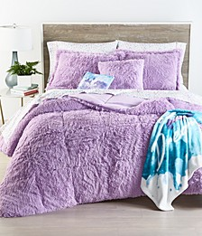 Shaggy Faux Fur Twin/Twin XL 2-Pc. Comforter Set, Created for Macy's
