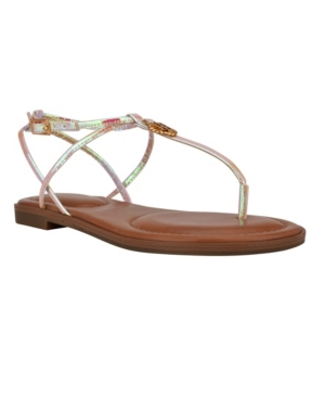 Tommy Hilfiger WOMEN'S MORINA STRAPPY THONG SANDALS WOMEN'S SHOES