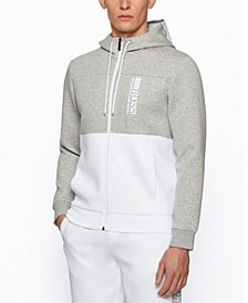 BOSS Men's Saggy Regular-Fit Hooded Sweatshirt