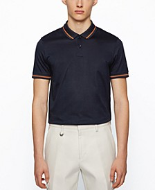 BOSS Men's Parlay 108 Regular-Fit Polo Shirt
