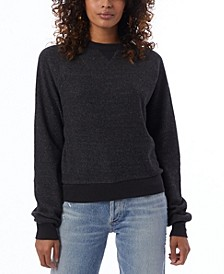 Women's Eco-Teddy Fleece Sweatshirt