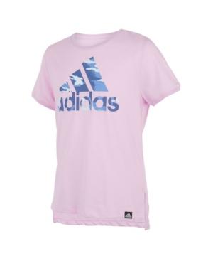 Adidas Originals TODDLER GIRLS SHORT SLEEVES DROP TAIL T-SHIRT