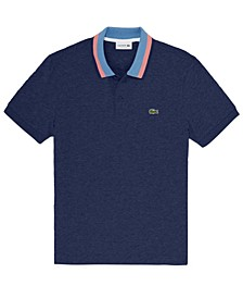 Men's Striped Collar Polo, Created for Macy's