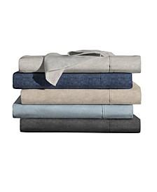 Organic Cotton Printed Heather Sheet Set Collection