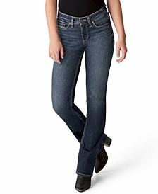 Trendy Plus Size Suki Mid-Rise Slim Bootcut Jeans