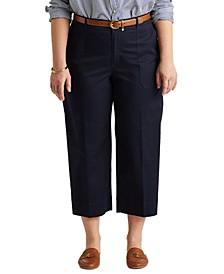 Plus Size Wide-Leg Pants