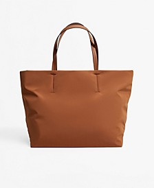 Women's Nylon Shopper Tote Bag
