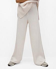 Women's Contrast Seam Pants