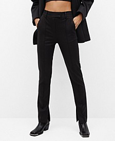Women's Straight Suit Pants